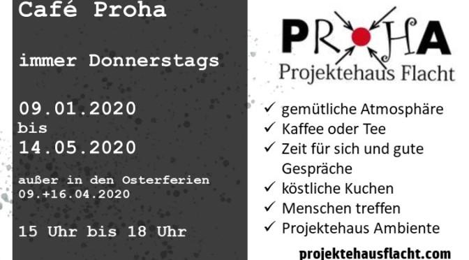 Café ProHa – jede Woche im Projektehaus